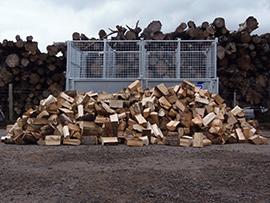 4 m3 mega load loose logs