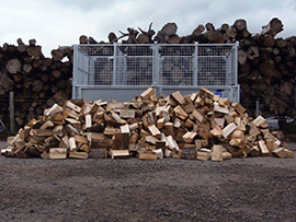 4 m3 mega load loose logs
